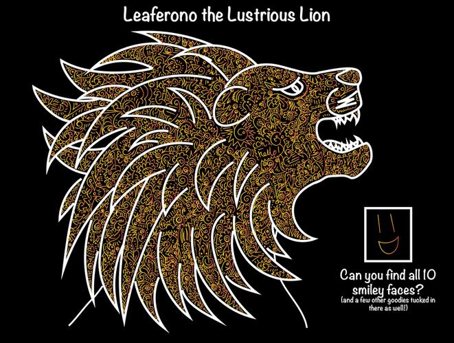Leaferono the Lustrious Lion