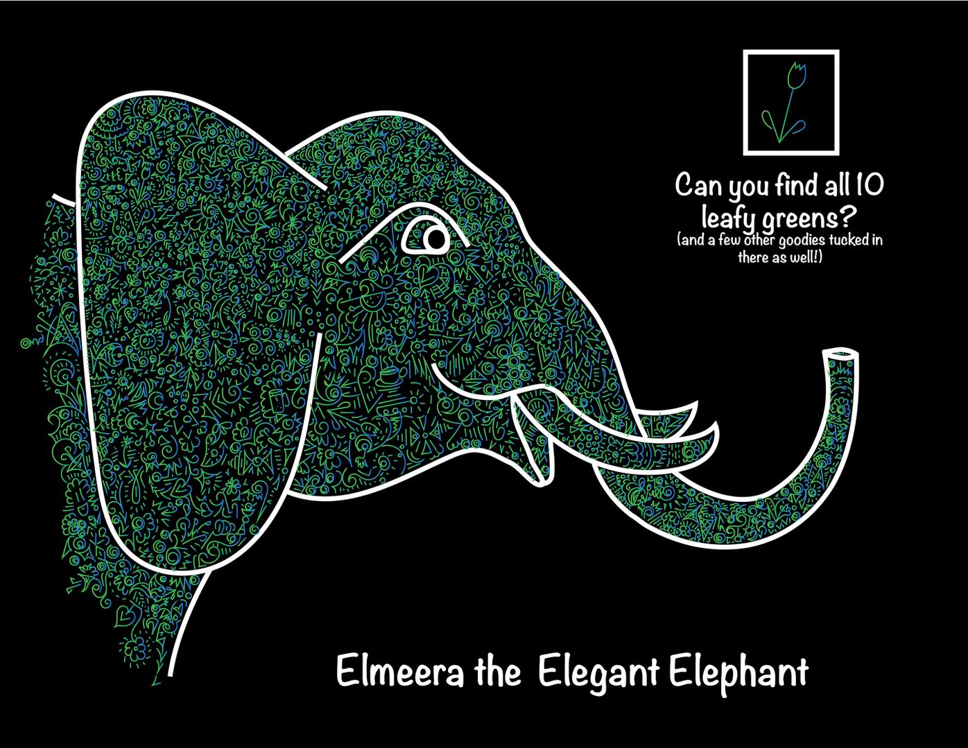 Elmeera the Elegant Elephant