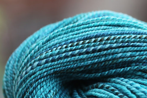 "DK Weight Polwarth/Silk ""Neptune's Beard"""