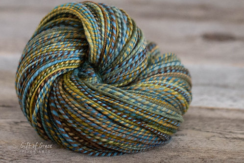 "DK/Light Worsted Weight Polwarth ""Dive"""
