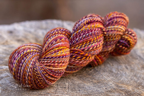 "Light Worsted Weight Superwash Merino""Fall Back"""