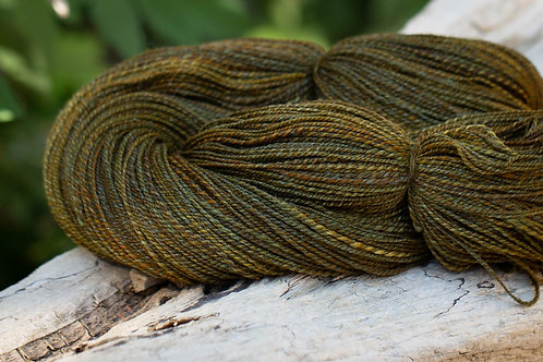 "Fingering Weight Merino/Silk ""Brass Pot"""