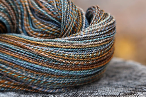 "DK Weight Mixed BFL/Silk""Something Wicked"""