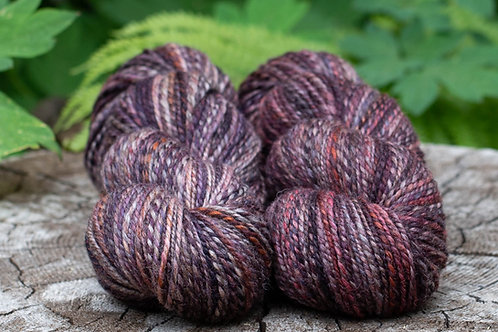 "Light Worsted Weight Mixed BFL ""Vampire"""