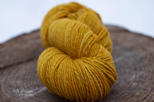 "Worsted Weight Organic Polwarth ""Pollen"" (3 skeins)"