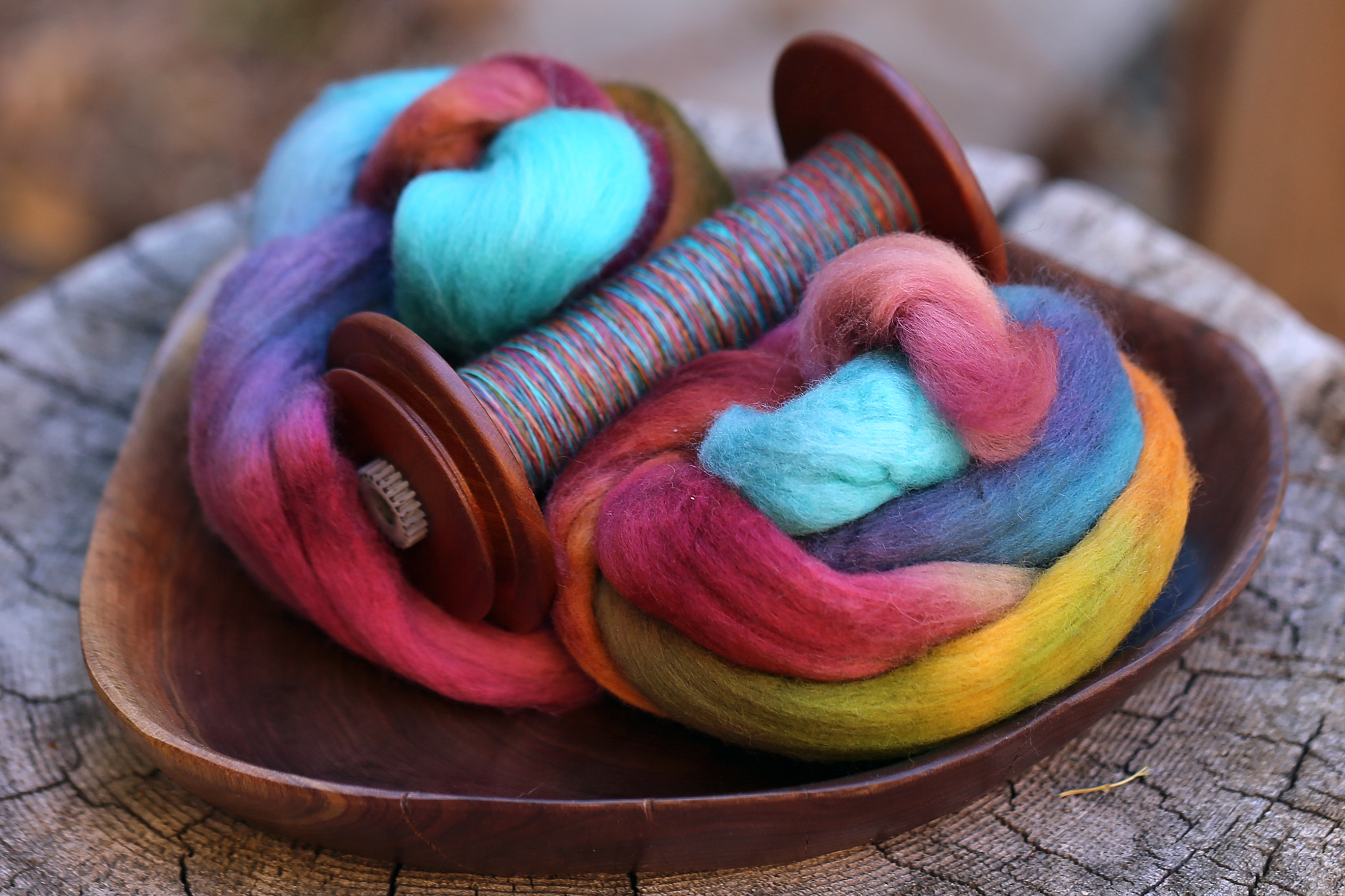 Bobbin and Fiber