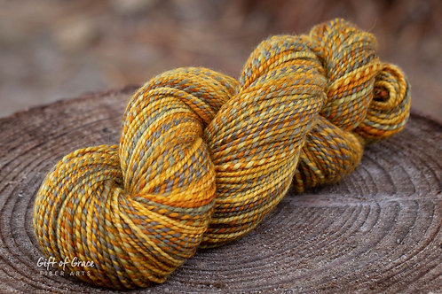 "Worsted Weight BFL ""Leaves"""