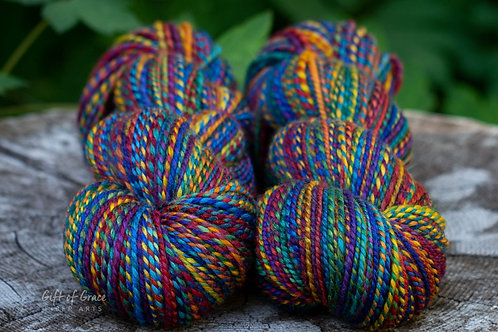 """Worsted Weight Mixed BFL """"Love is Love"""""""
