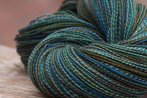 "Fingering Weight 3 Ply Sock Yarn Falkland ""Pacific Rim"""