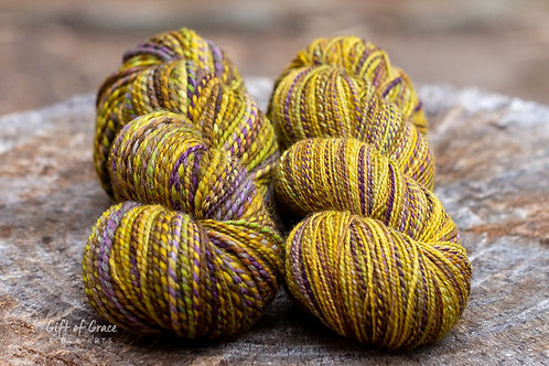 "Worsted and Fingering Weight Falkland ""Scorch"""