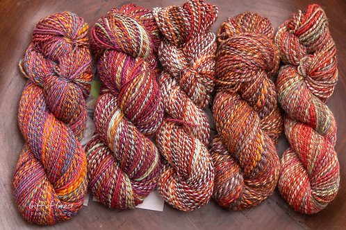 """""""MINI SKEINS"""" Mixed Weights/Fibers (3 ply fingering)"""