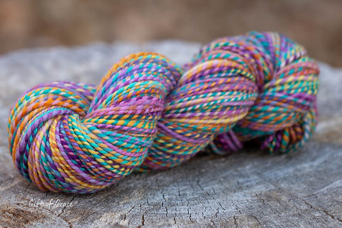 """Worsted Weight Organic Polwarth """"Be Free"""""""