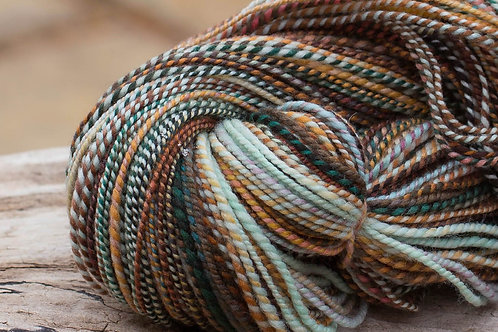 "Worsted Weight Organic Polwarth ""Winter Warmer"" (skein #1)"