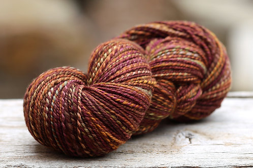 """OVERSIZED Skein DK Weight Polwarth/Silk """"Tiny Bubbles"""""""