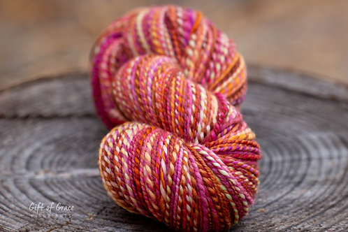 "DK Weight Superwash Merino""Berry Squeeze"" (skein #2 of 2)"