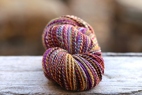 """Worsted Weight Organic Polwarth """"Trapeze"""""""