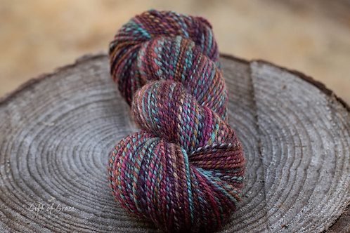 """Light Worsted Weight Mixed BFL """"Endless Love"""""""