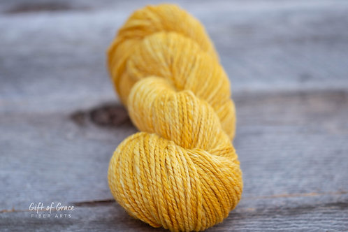 "DK Weight Organic Polwarth/Silk ""Duckling"""