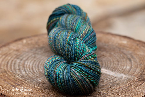 "DK Weight Polwarth/Silk ""Outside Motivation"""