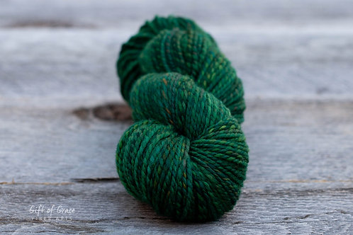 "Worsted Weight Polwarth ""Hemlock Trail"""
