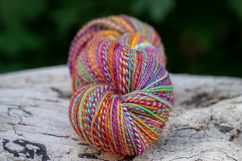 "Sport Weight Organic Merino ""For the  Love of Summer"" (skein #1)"