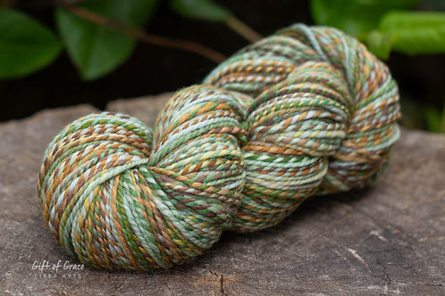 """Worsted Weight Polwarth  """"April Showers"""""""