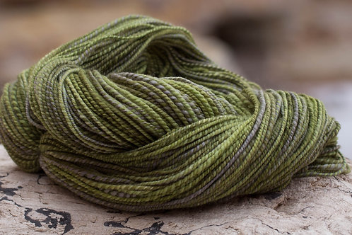 """Light Worsted Weight Organic Polwarth """"Clary Sage"""""""