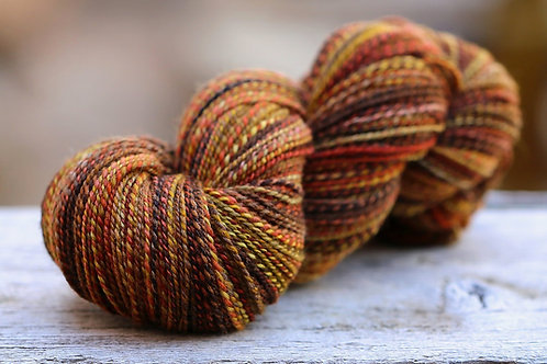 "Fingering Shetland/Silk ""Peak Color"""