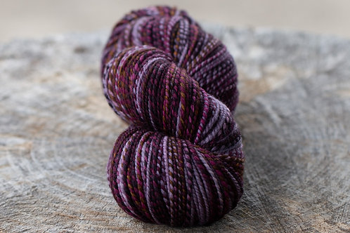 "DK Weight Organic Polwarth/Silk ""Six"" (skein #1)"