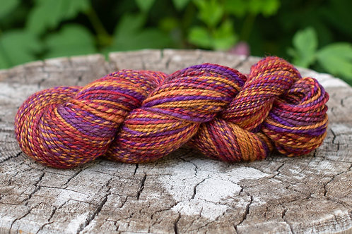 """Worsted Weight BFL """"Toasted Oats and Berries"""" (skein 2)"""