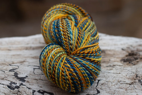 "Worsted Weight Organic Polwarth ""Where the Wild Things Grow"""