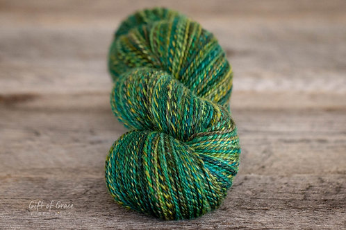 "Fingering Weight BFL/Silk""Pushing Daisies"""