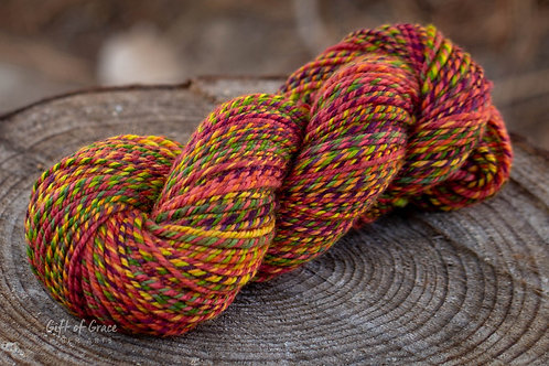 "OVERSIZED Skein-Aran Weight Weight Falkland ""Woodbine"""