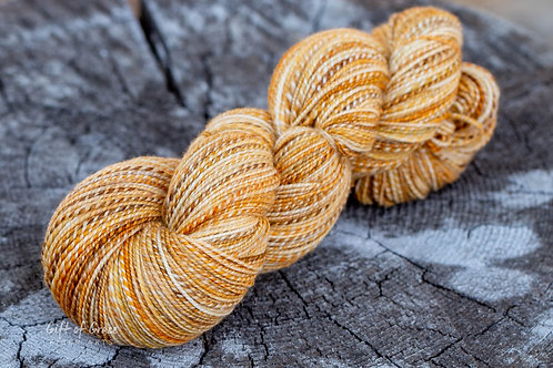 "Fingering Weight Superwash Merino ""Pumpkin Glaze"""