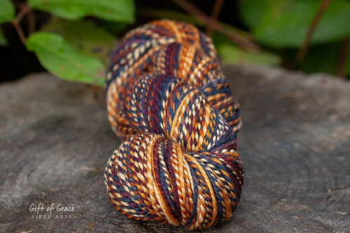 """Worsted Weight Organic Polwarth """"Blue Moon"""""""