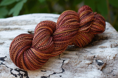 "Fingering Weight BFL/Silk""Fireside"""
