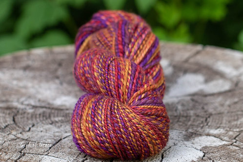 "Worsted Weight BFL ""Toasted Oats and Berries"" (skein 2)"