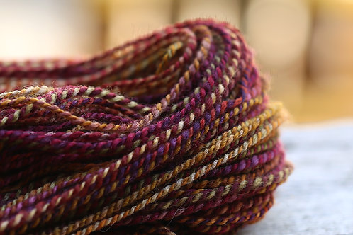"Light Worsted Weight Mixed BFL ""Balance"" (skein #1)"