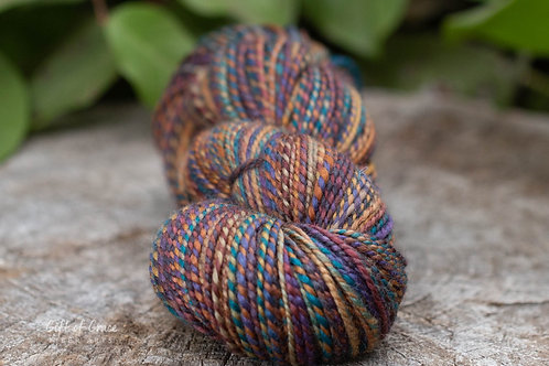 "Worsted Weight BFL ""African Sunset"" (skein 1-lighter)"