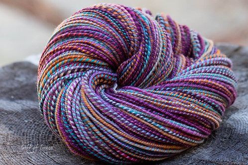"DK Weight Organic Polwarth ""Candy Crush"" #2"