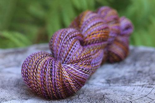 "Fingering Weight 3 Ply Sock Yarn Falkland ""My Little Lilac Bush"""