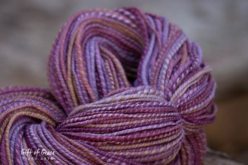 "OVERSIZED Skein--Worsted Weight Falkland Merino ""Bramble"""