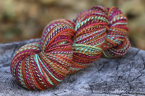 "Light Worsted Weight BFL ""Morning Light"""