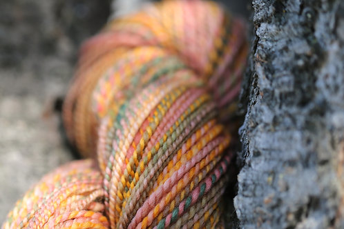 """Light Worsted Weight Polwarth """"She's a Peach"""" (skein #1)"""