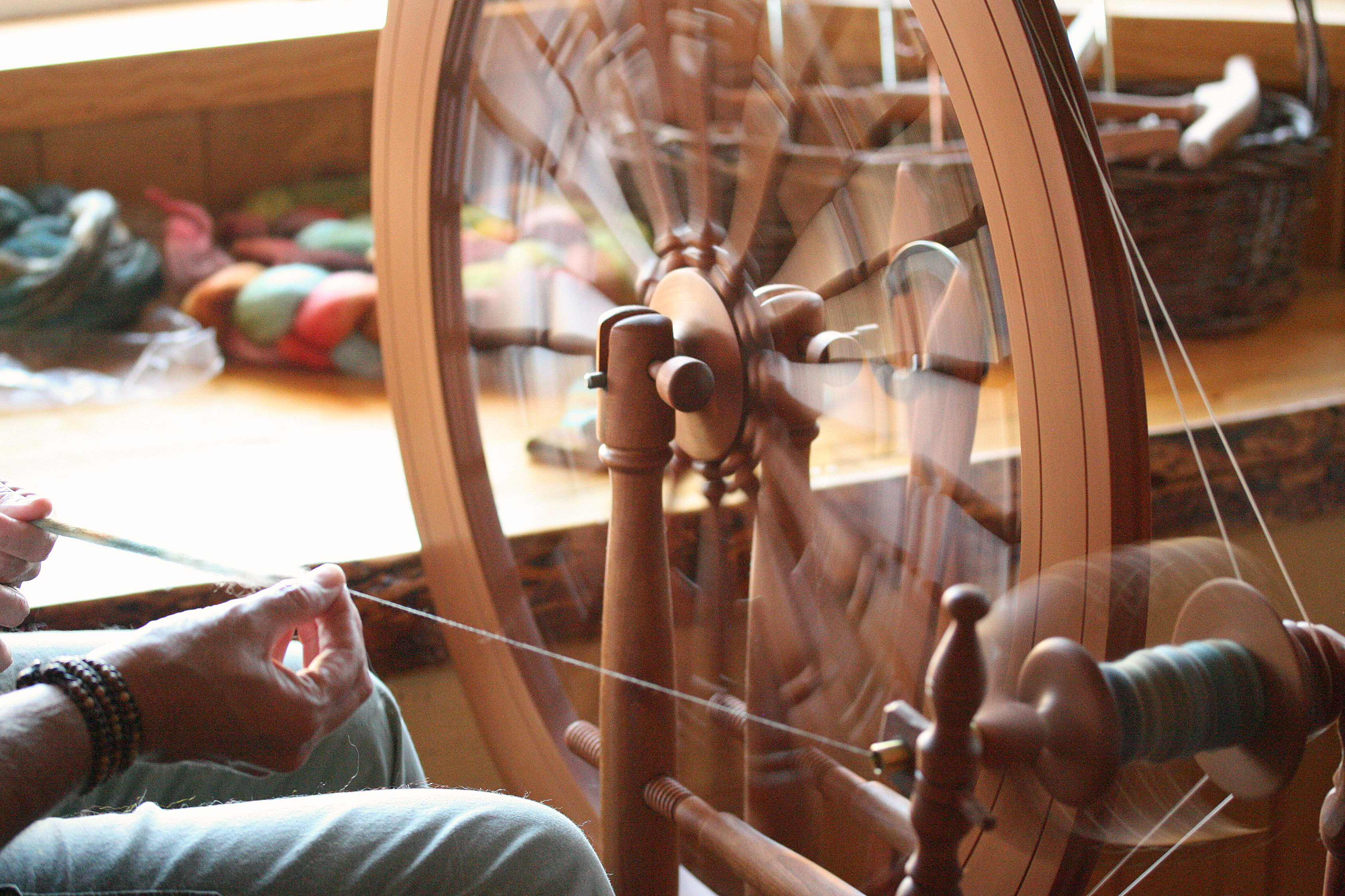 More spinning on my Jensen Ashley.