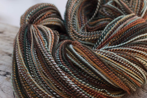 "DK Weight Organic Polwarth ""Winter Warmer"" (skein #4)"