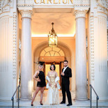 With the London Cabaret Club at the Carlton in Cannes