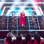 Playing violin on the X Factor finale with Grace Davis