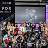 Ambassador for Yamaha Music in Milan