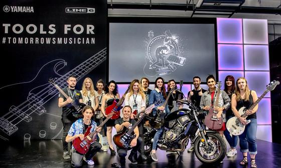 Yamaha Music Europe launch in Milan